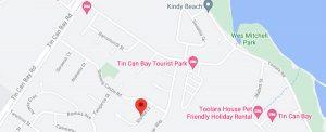 Weeroona Association - Accommodation - Elanda Location Map